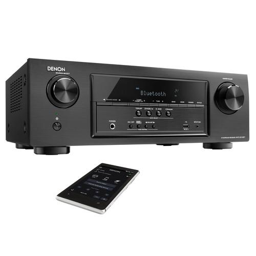 Denon AVR-S510BT 5.2 Channel Full 4K Ultra HD A/V Receiver