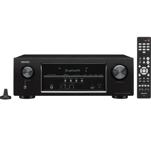 Denon AVR-S530BT 5.2-Channel A/V Receiver