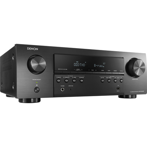 Denon AVR-S540BT 5.2-Channel A/V Receiver