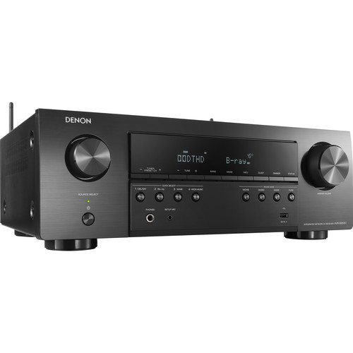 Denon AVR-S650H 5.2-Channel Network A/V Receiver