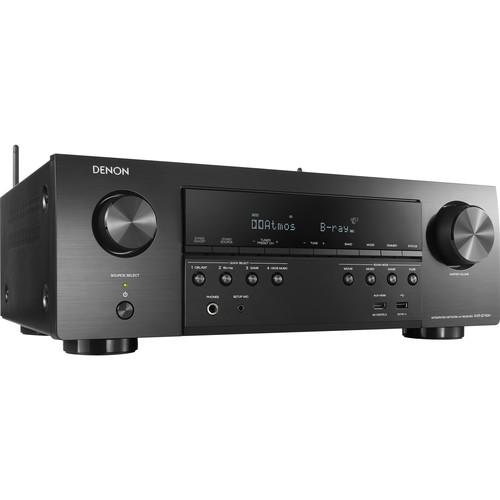 Denon AVR-S740H 7.2-Channel Network A/V Receiver