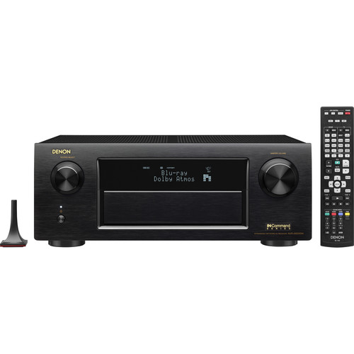 Denon IN-Command AVR-X6200W 9.2-Channel Network A/V Receiver (Black)