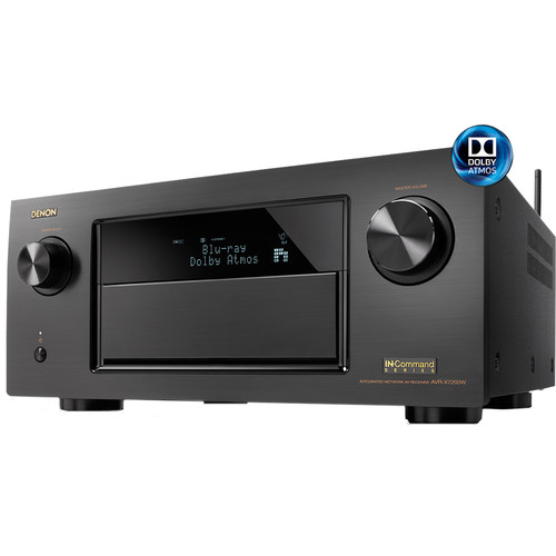 Denon IN-Command Series AVR-X7200WA 9.2-Channel Integrated Network A/V Receiver