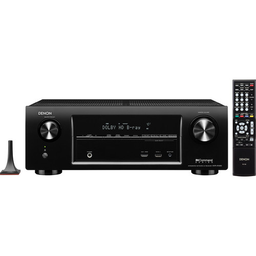 Denon AVR-X1000 IN-Command Series Integrated Network A/V Receiver
