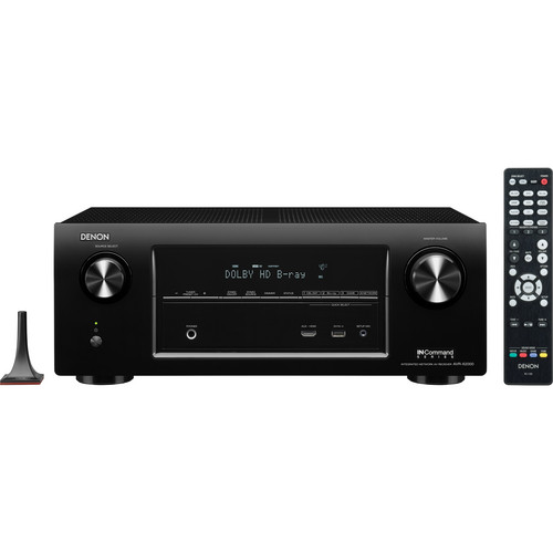 Denon AVR-X2000 IN-Command Series 7.1-Channel Integrated Network A/V Receiver