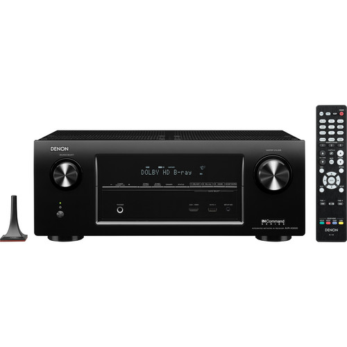 Denon AVR-X3000 IN-Command Series 7.2-Channel Integrated Network A/V Receiver