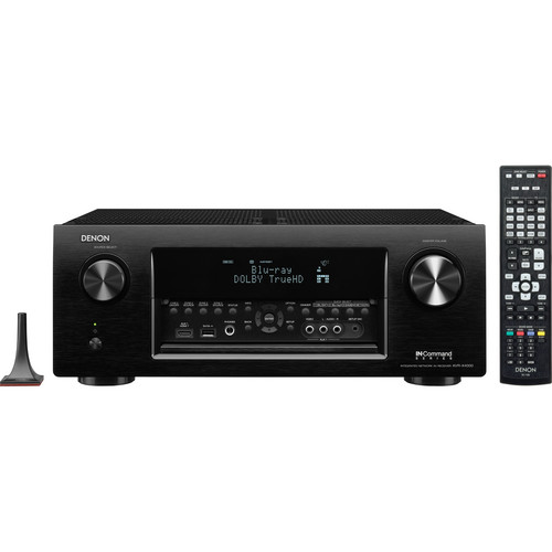 Denon AVR-X4000 IN-Command Series 7.2-Channel Integrated Network A/V Receiver