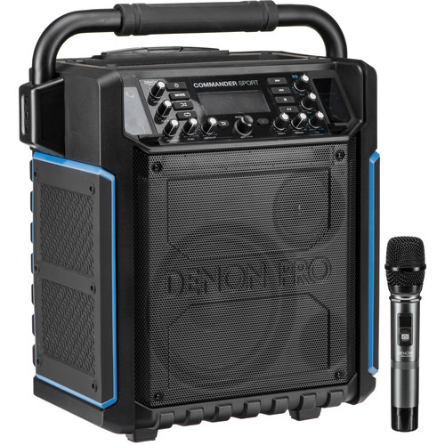 Denon Commander Sport Portable Water-Resistant 120W All-In-One PA System