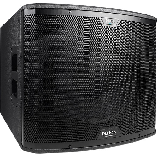 "Denon Delta 15S - 15"" Subwoofer with Wireless Connectivity (2400W)"