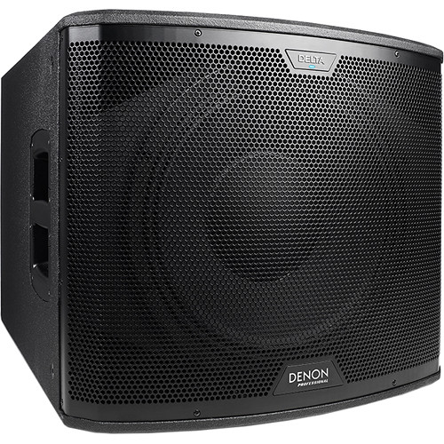 """Denon Delta 15 Sub - 15"""" Powered Subwoofer with Wireless Connectivity (2400 W)"""
