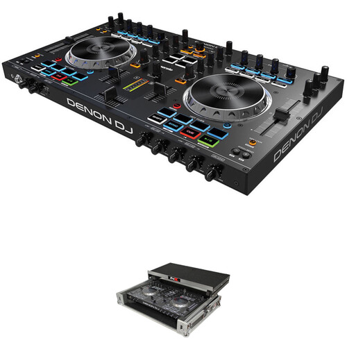Denon DJ MC4000 Controller Kit with Hard Carry Case