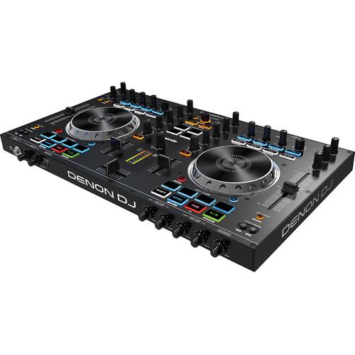 Denon DJ MC4000 Professional 2-Channel DJ Controller for Serato