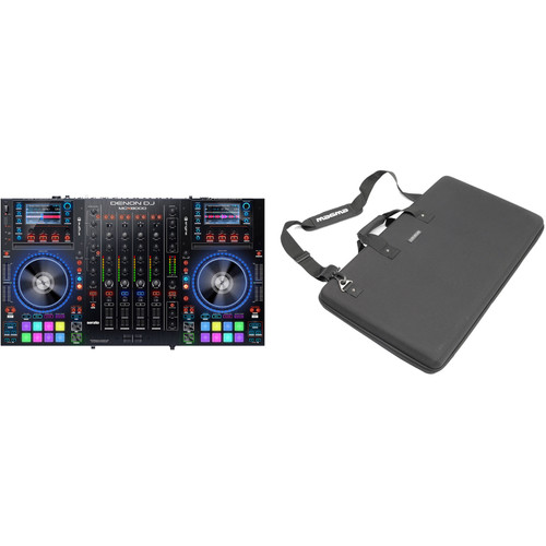 Denon DJ MCX8000 DJ Controller Kit with Carrying Case