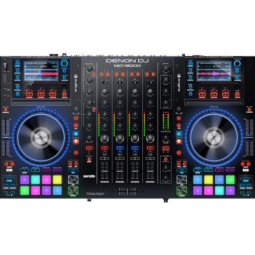 Denon DJ MCX8000 Stand-alone DJ Player and DJ Controller