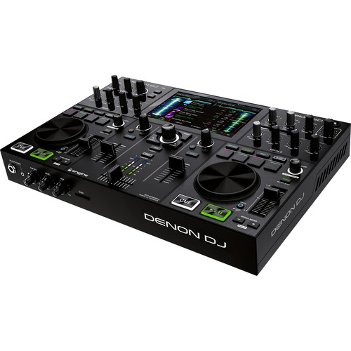 "Denon DJ PRIME GO - Standalone 2-Deck Rechargeable Smart DJ Console with 7"" Touchscreen"