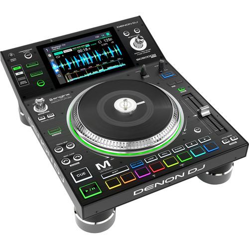 "Denon DJ SC5000M Prime DJ Media Player with Motorized Platter & 7"" Multi-Touch Display"