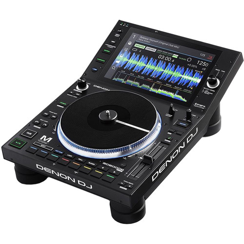 """Denon DJ SC6000M Prime Professional Dual-Layer Media Player with 10.1"""" Multi-Touch Display"""