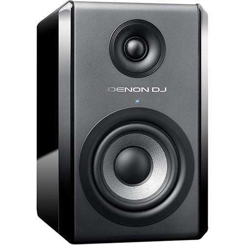 "Denon DJ SM50 Bi-Amplified 5"" Reference Studio Monitor Kit (Pair)"