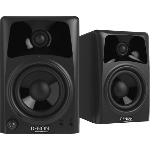 """Denon DN-304S 4"""" Desktop Speakers for Media Creation (Pair)"""