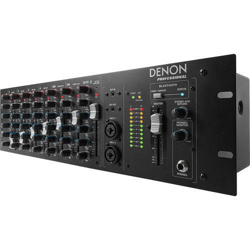 Denon DN-410X Rackmount Mixer with Bluetooth (10-Channel)