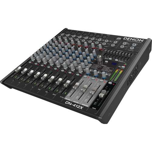 Denon DN-412X 2-Bus Tabletop Mixer (12-Channel)