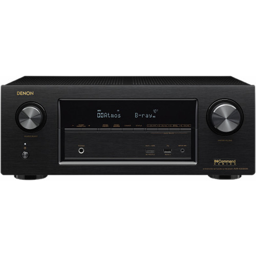 Denon 7.2ch AV Surround Receiver with Wi-Fi, Bluetooth, and Ethernet