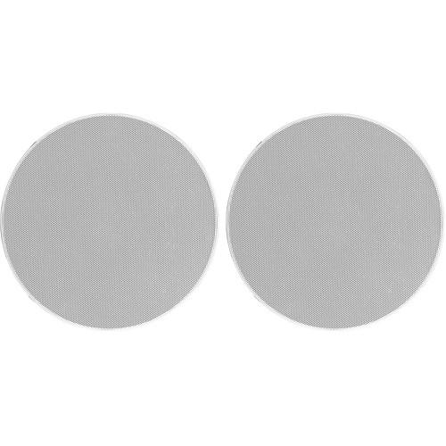 """Denon DN-F65S 6.5"""" Fast-Install In-Ceiling Speaker (White, Pair)"""
