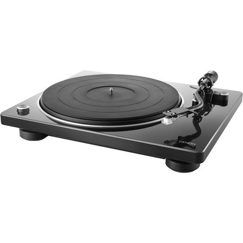 Denon DP-400 Stereo Turntable (Piano Black)