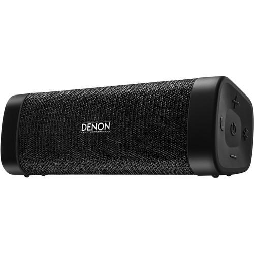 Denon Envaya Pocket Portable Bluetooth Speaker (Black)