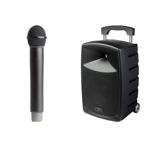 Denon Envoi Portable PA System Kit with Dual-Channel Wireless Handheld and Headset Microphones