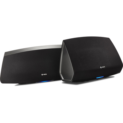Denon HEOS 5 and HEOS 7 Bundle (Series 2, Black)