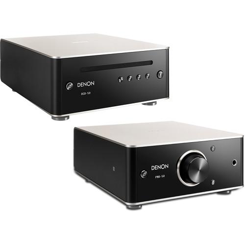 Denon PMA-50 Stereo Amplifier & DCD-50 CD Player Bundle