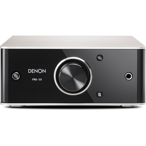 Denon PMA-50 2-Channel Digital Integrated Stereo Amplifier (Black)