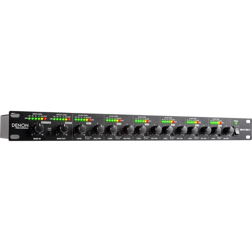 Denon Split Mix 6 - 6-Channel Mixer with Signal Splitter Functionality