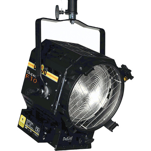 DeSisti LEONARDO Super F10 Daylight-Balanced LED Fresnel Light (Manual Operation)