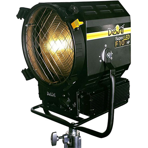 DeSisti Leonardo Super F10Hp High Power LED Fresnel Outdoor Rated  Tungsten CCT,  IP23 Rain Protected