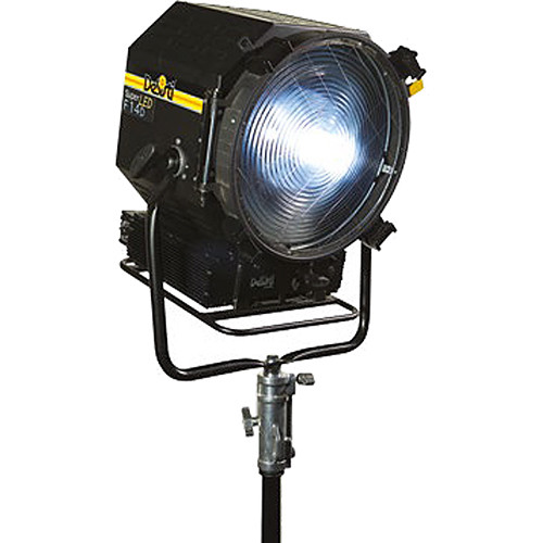 DeSisti Super LED F14 Tungsten-Balanced Fresnel (Manually Operated, Rain Protected)