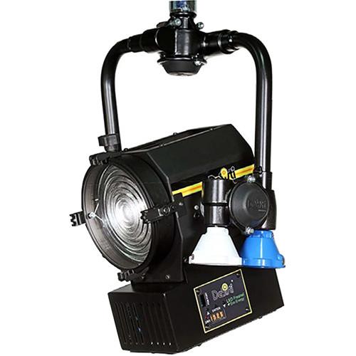DeSisti Super LED F4.7 Daylight-Balanced Fresnel Light (Pole Operated)