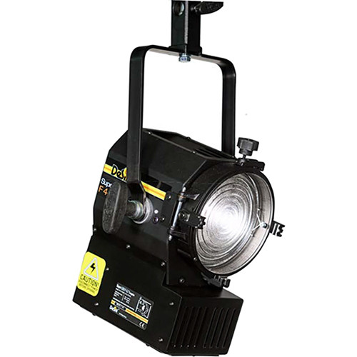 DeSisti Super LED F4.7 Tungsten-Balanced Fresnel Light (Manually Operated, Battery Option)