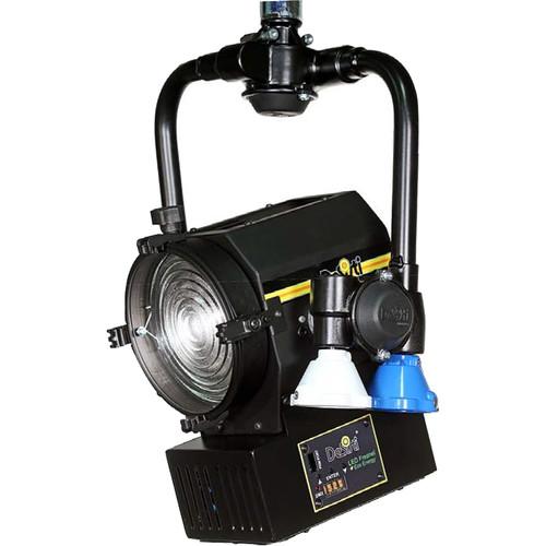 DeSisti Super LED F4.7VW Vari-White LED Fresnel Pole Operated Spotlight