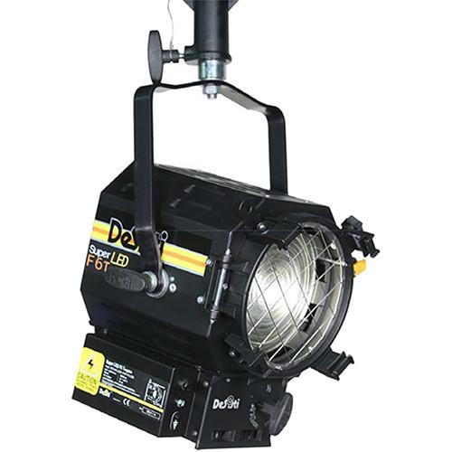 """DeSisti Super LED F6 Vari-White 6"""" Fresnel (Manual Operation)"""