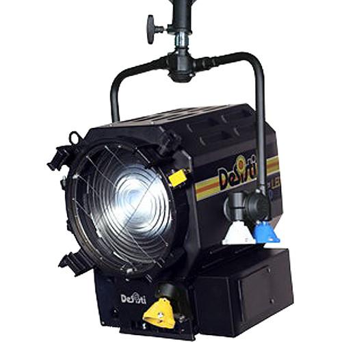 DeSisti Super F7 Tungsten-Balanced LED Fresnel Light (Pole Operated)