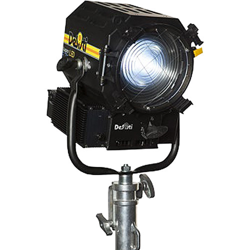 DeSisti Super F7 Tungsten-Balanced LED Fresnel Light (Manually Operated, Rain Protected)