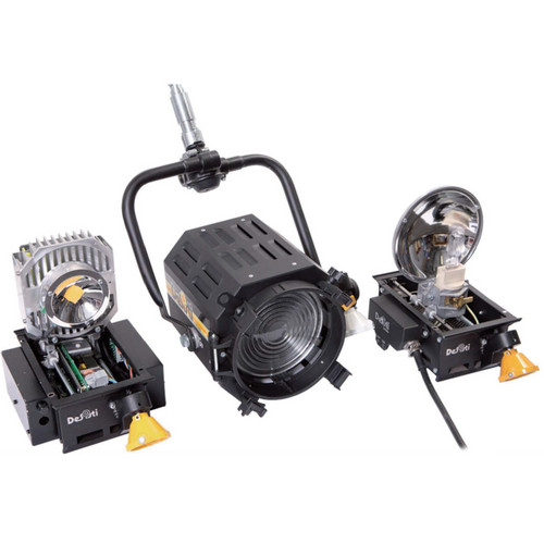DeSisti EZ-4S LED 90W Daylight CCT Manual-Operated Retrofit Kit for Leonardo 1kW Tungsten Fresnel Spotlight