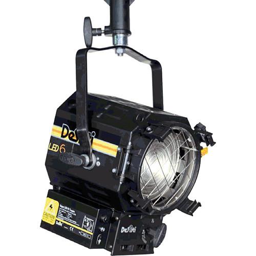 DeSisti LEONARDO 6 Daylight-Balanced LED Fresnel Light (Manual Operation)