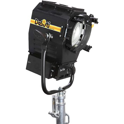DeSisti Leonardo Piccolo 120W Tungsten-Balanced CCT LED Fresnel Spotlight