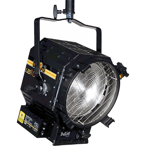 DeSisti LEONARDO 10 Tungsten-Balanced LED Fresnel Light (Manual Operation)