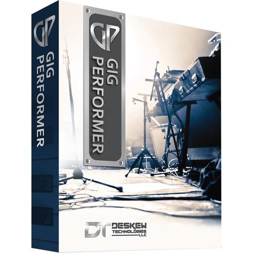 DESKEW TECHNOLOGIES Gig Performer - AU and VST Host for Live Performers (Mac)