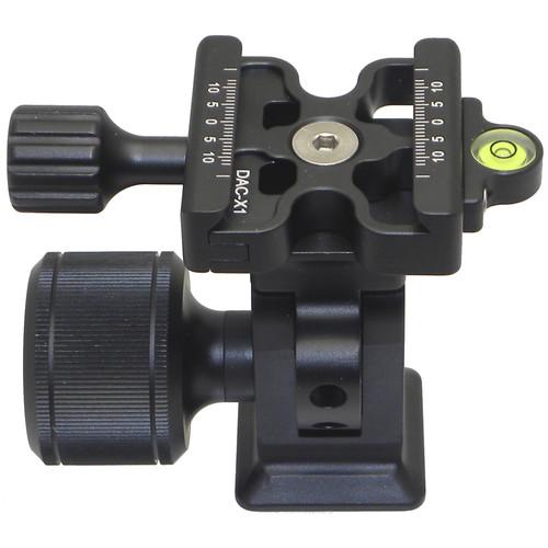 Desmond DMH-2 & 50mm DAC-X1 Clamp Tripod Tilt Head for Arca-Type RRS Lever Clamps