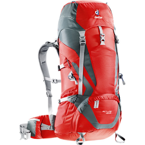 Deuter Sport ACT Lite 40 + 10 Backpack (Fire/Granite)